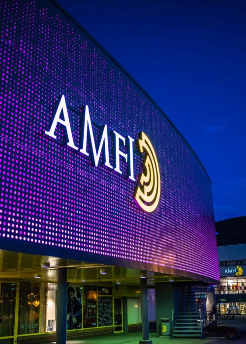 AMFI, Mo i Rana - Fasade